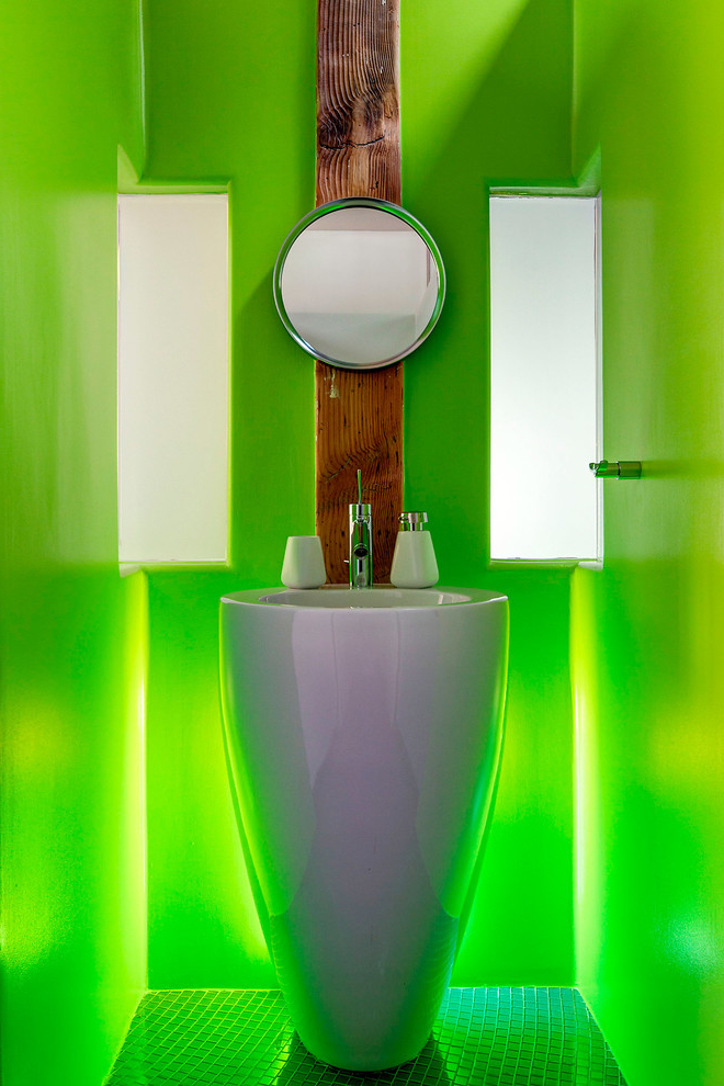 Featured Image of Futuristic Powder Room Design Ideas