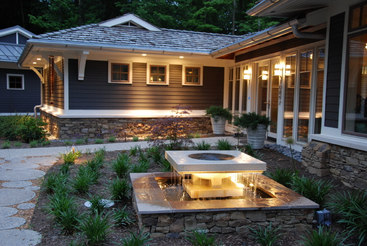 Featured Image of Garden With Pond Lighting Ideas
