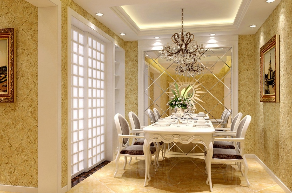 Featured Image of Glamour European Dining Room Design Ideas