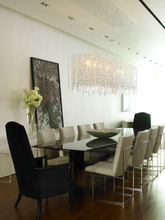 Featured Image of Glass Dining Room Chandelier Ideas