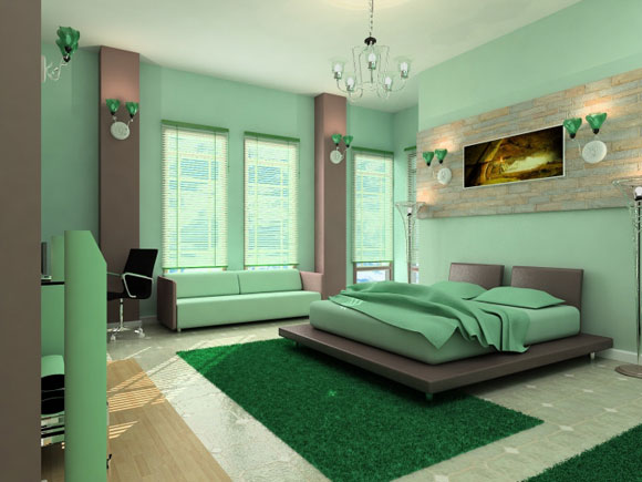 featured image of green bedroom decorating ideas - Green Bedroom Decorating Ideas