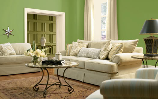 Featured Image of Green Living Room Colors