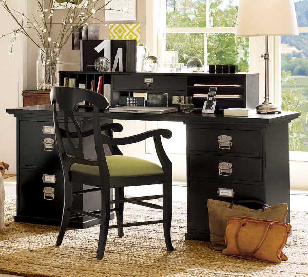 Featured Image of Home Office Wooden Desk Ideas