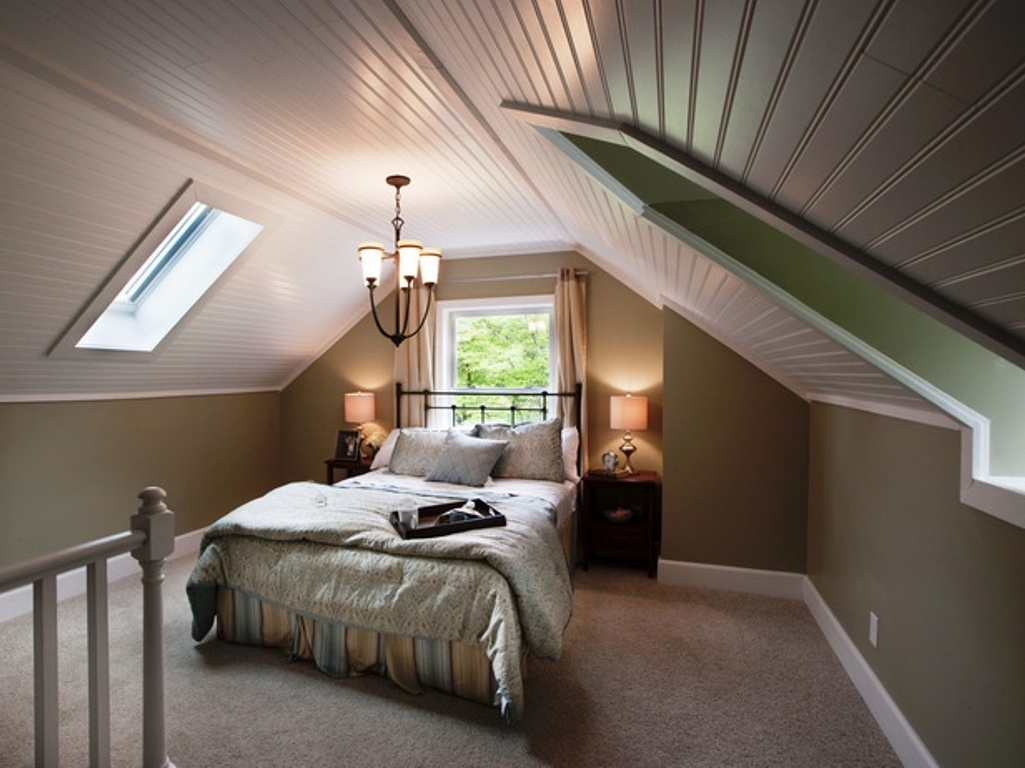 Featured Image of Impressive Attic Bedroom In Classic Nuance