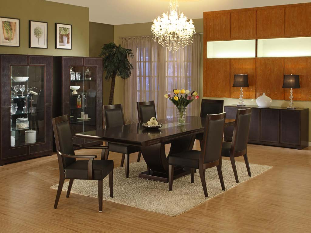 Featured Image of Impressive Modern Dining Room Ideas