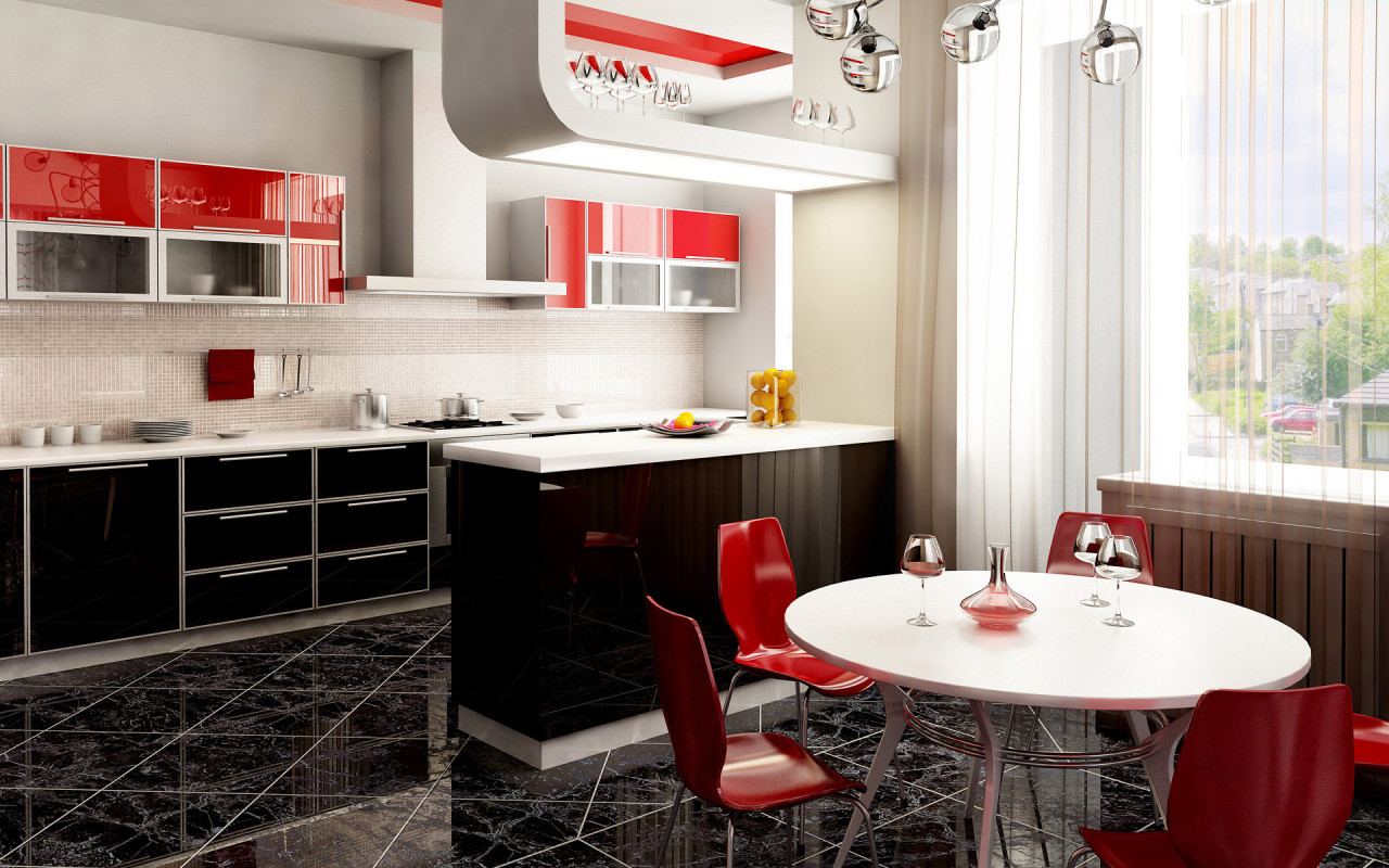 Featured Image of Interior Combo For Kitchen And Dining Room