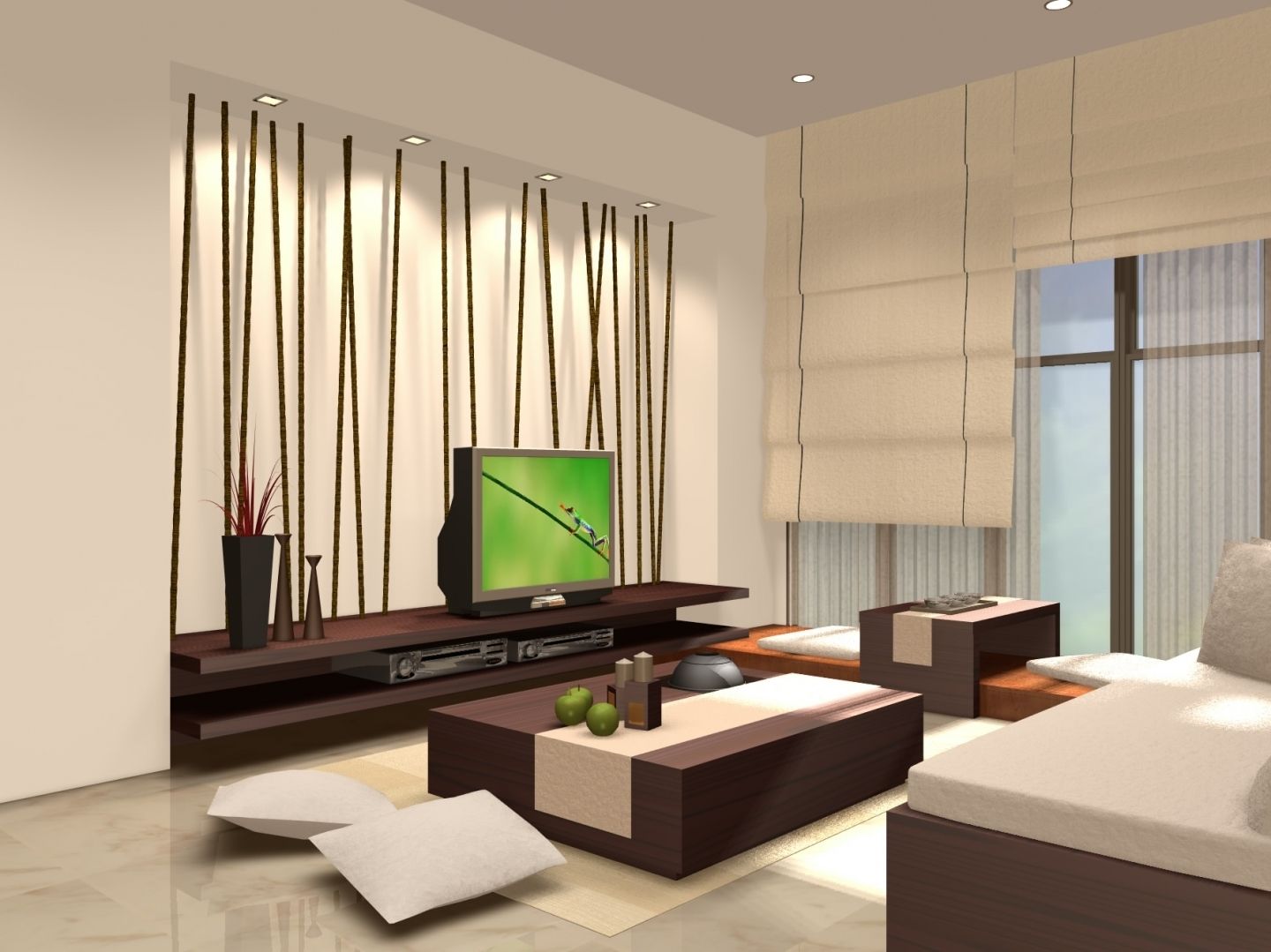 Featured Image of Japanese Modern Living Room Deisng Concept