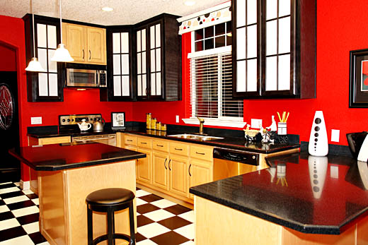 Featured Image of Kitchen Colors For 2012 Color Red