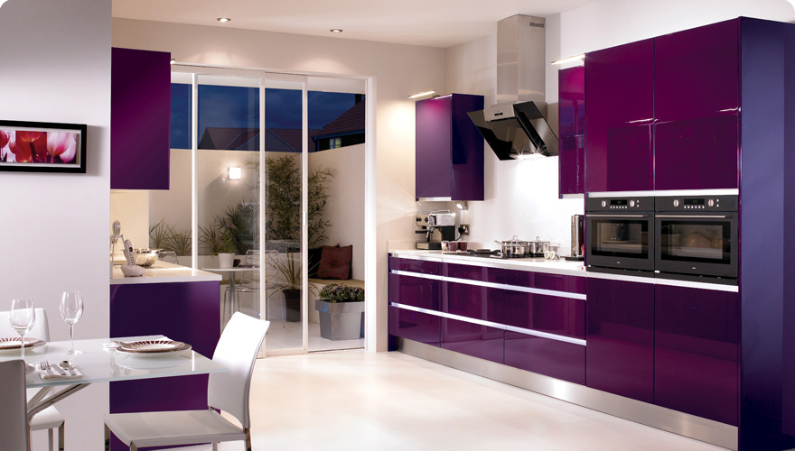 Featured Image of Kitchen Colors For 2012 In Purple Color
