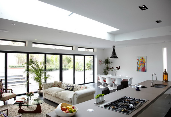 Featured Image of Kitchen Combined With Living Room Decorations