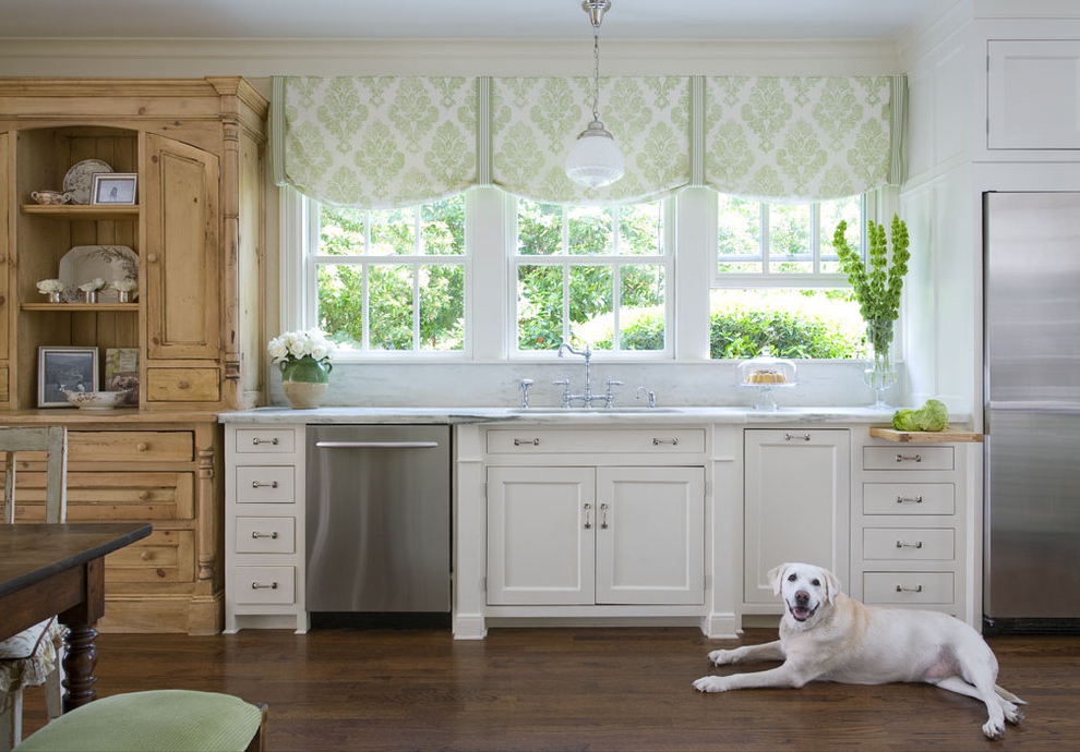 Featured Image of Kitchen Curtains For Triple Windows