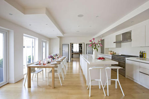Featured Image of Kitchen And Dining Room In One Room