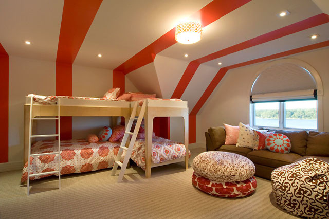Featured Image of Large Bunk Beds Interior For Girl