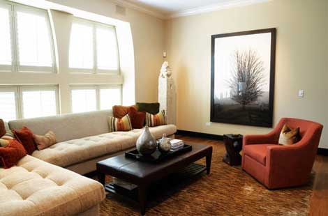 Featured Image of Large Living Room Interior Decorating