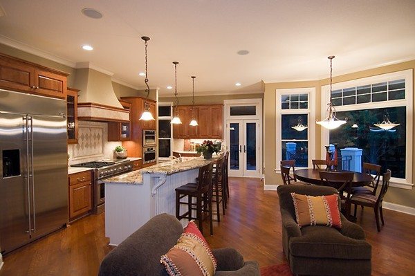 Featured Image of Large Open Kitchen Design Ideas