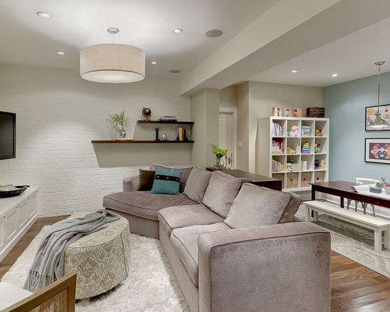 Featured Image of Living Room Basement Remodeling Ideas