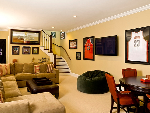 Featured Image of Living Room Decor In Sport Theme