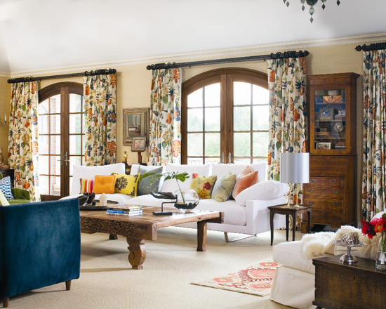 Featured Image of Living Room Window Curtain Ideas