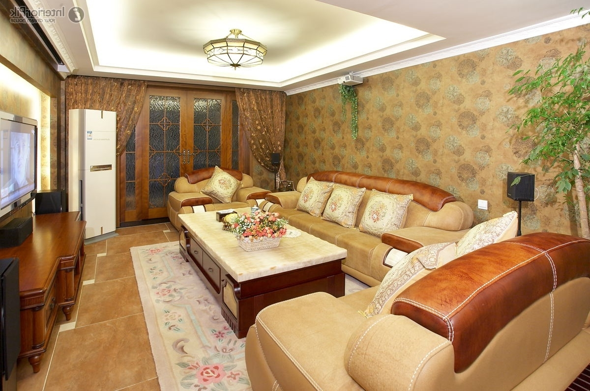Featured Image of Living Room With Polystyrene Ceiling