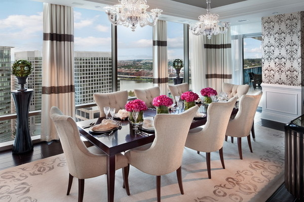 Luxury Dining Room For Modern Apartment #6128 | House Decoration Ideas