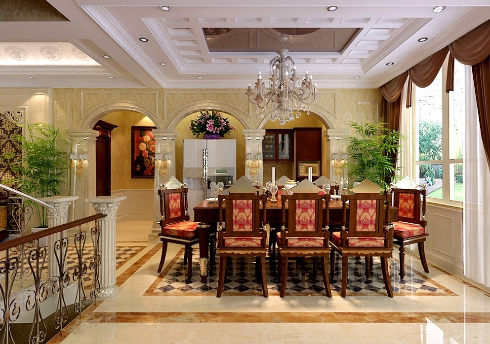 Featured Image of Luxury Dining Room In Classic Design