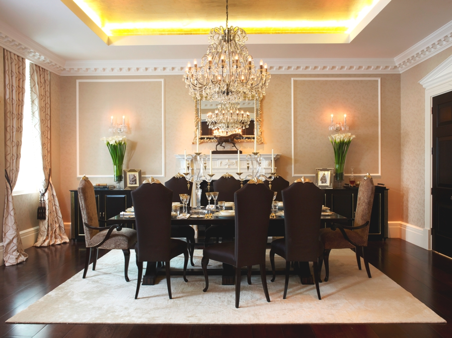 Luxury Dining Room In London Apartments 7762 House