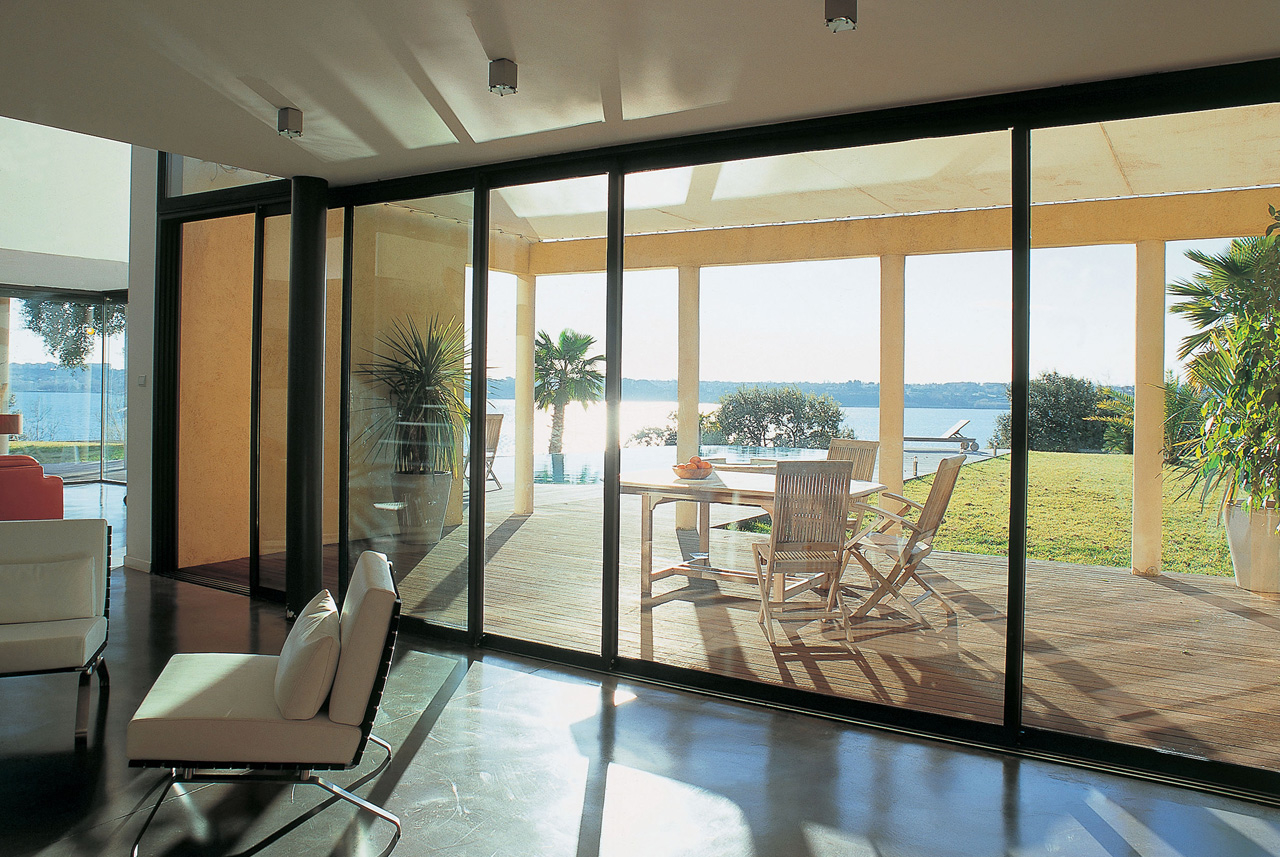 Featured Image of Luxury Glass Door Aluminium Frame