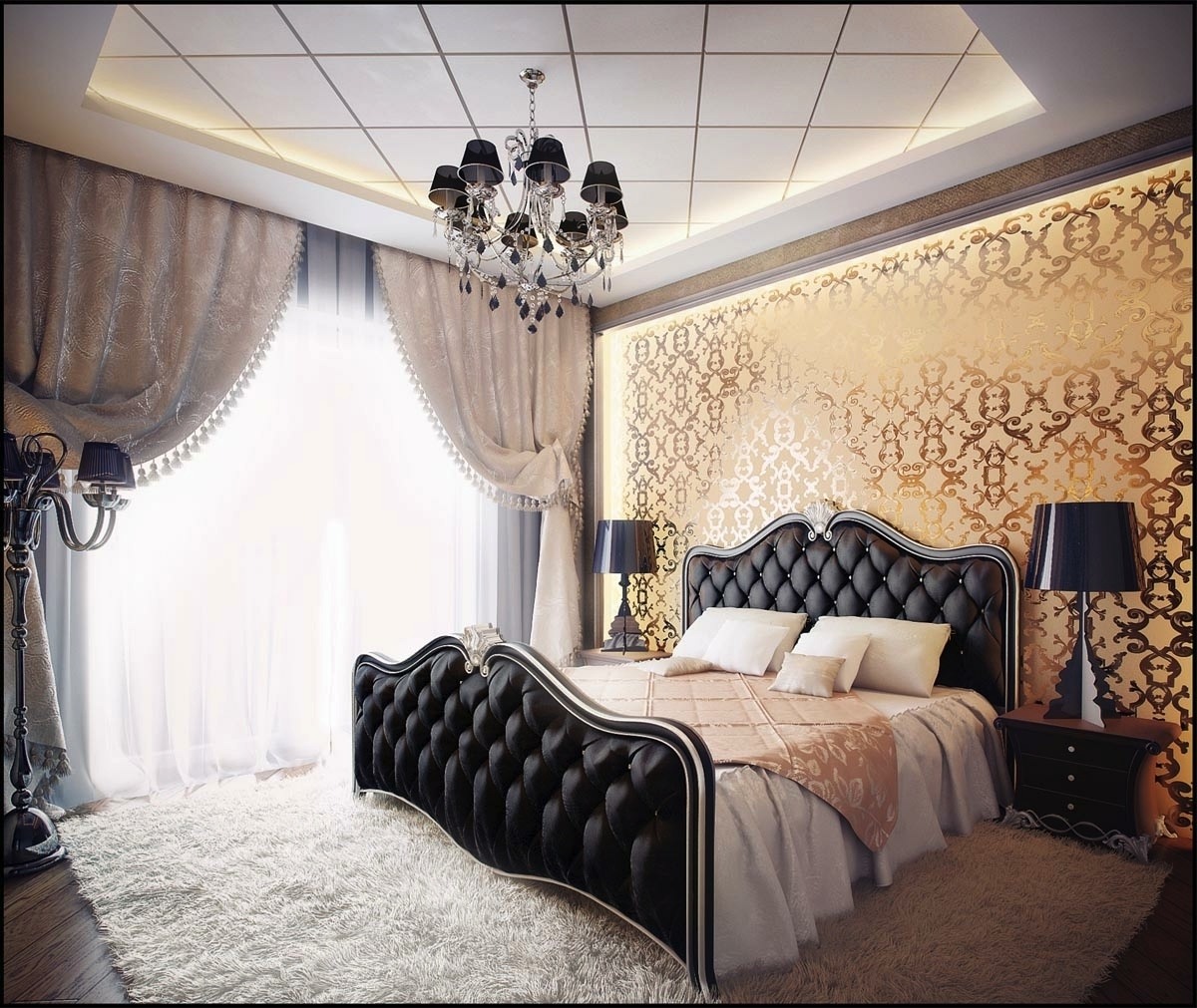 Featured Image of Luxury Gothic Bedroom Design Ideas