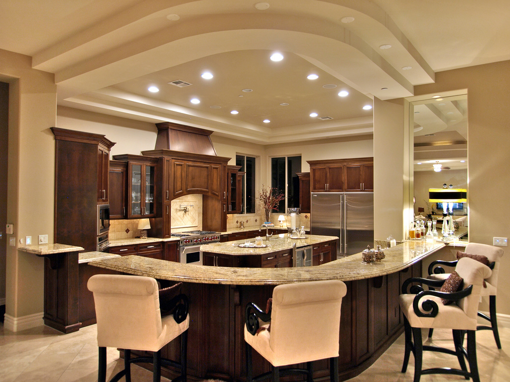 Luxury Western Kitchen #8569 | House Decoration Ideas