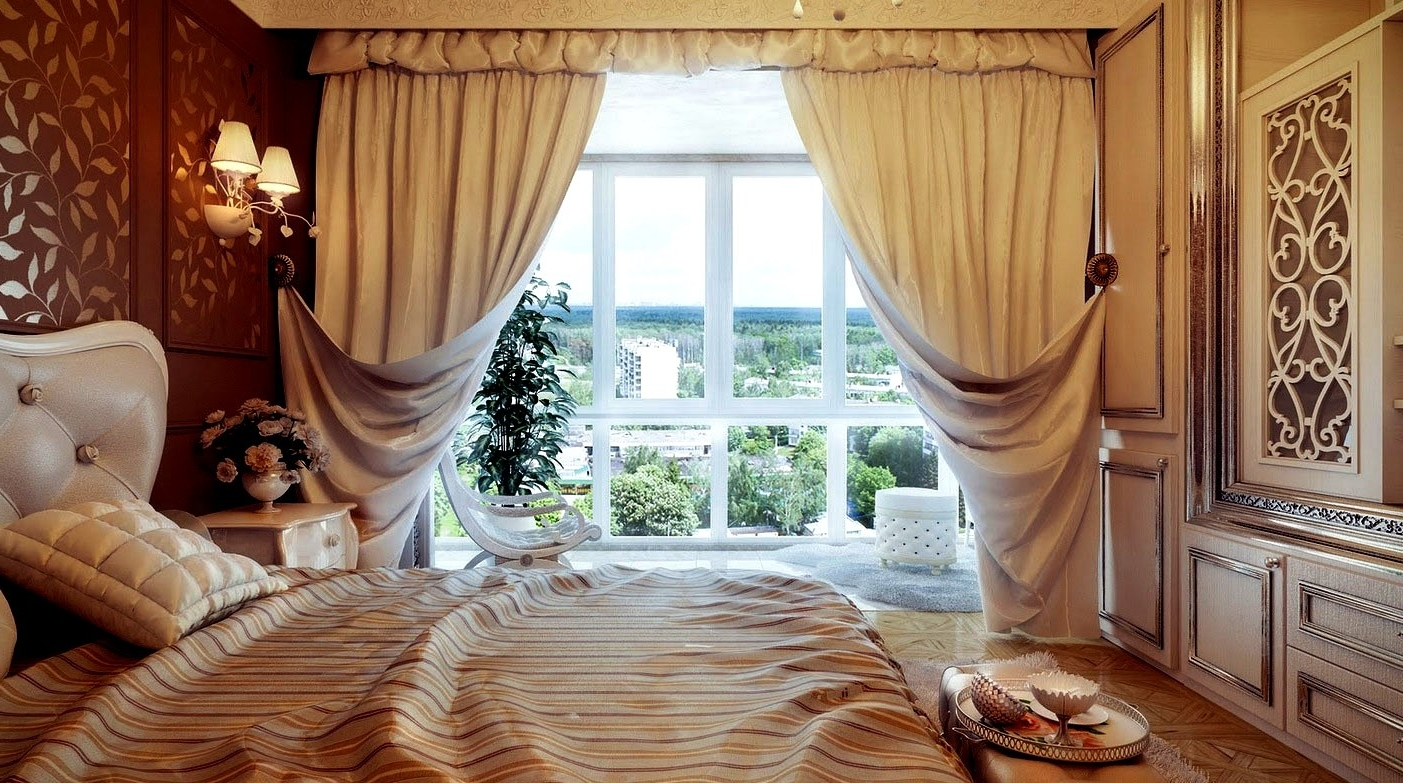 Featured Image of Luxury Wool Fabric Curtains Pattern