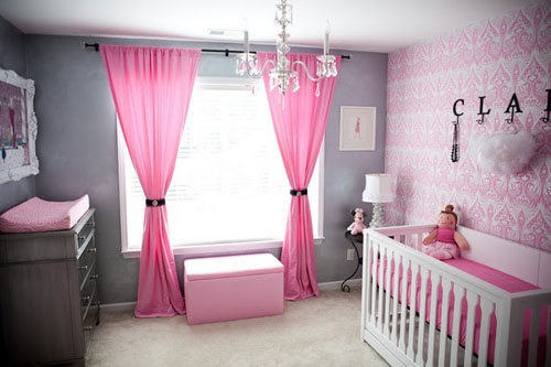 Minimalist Nursery Bedroom Furniture Design Ideas (Image 5 of 9)