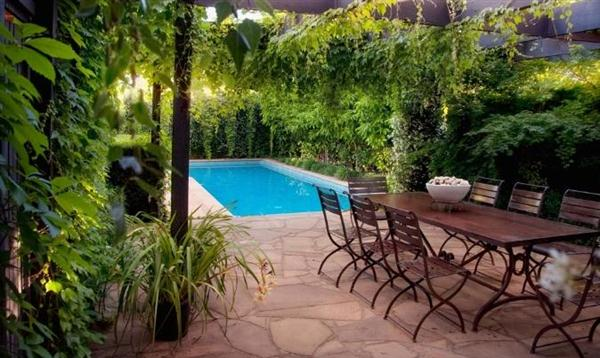 Featured Image of Minimalist Pool Beautiful Decorate Garden