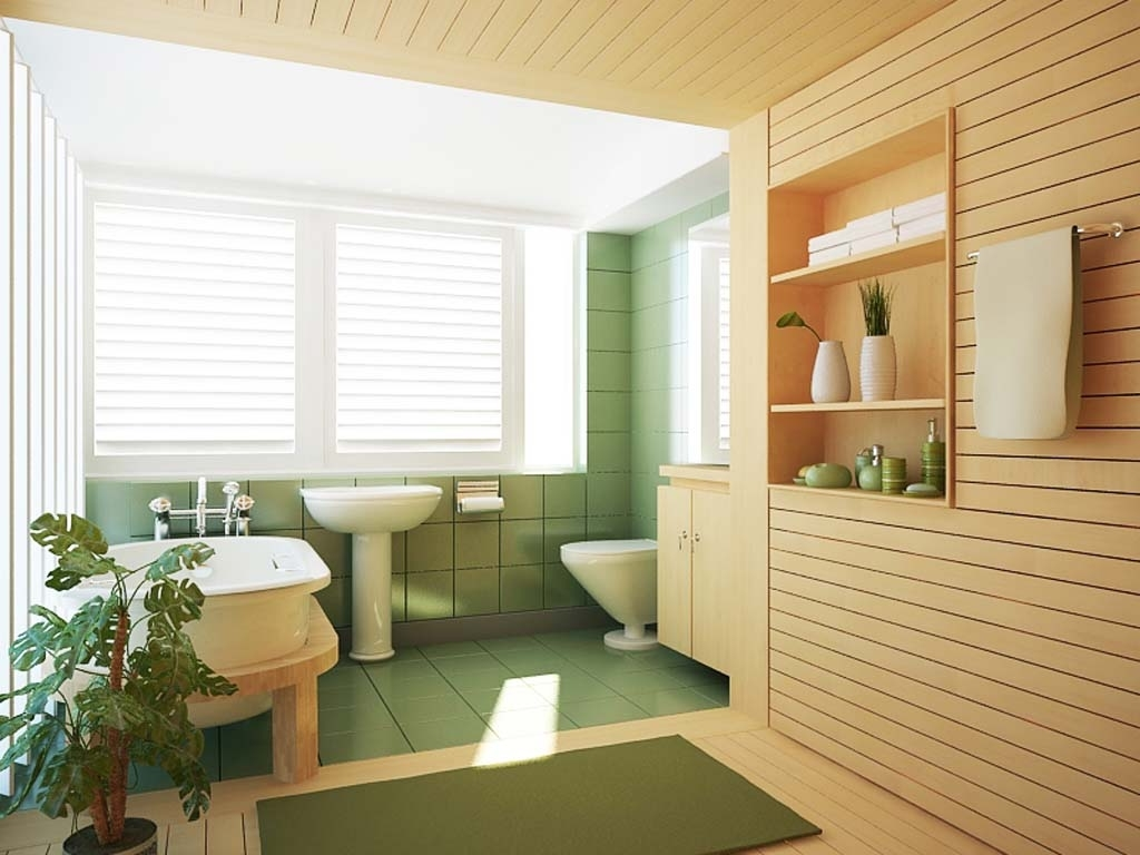 Featured Image of Modern Bathroom Ceramic Flooring For Natural Nuance
