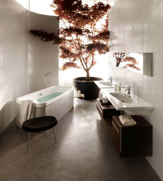 Featured Image of Modern Bathroom Furniture Design Ideas