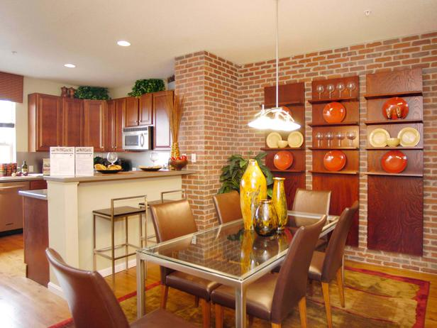Featured Image of Modern Bricks In The Dining Room
