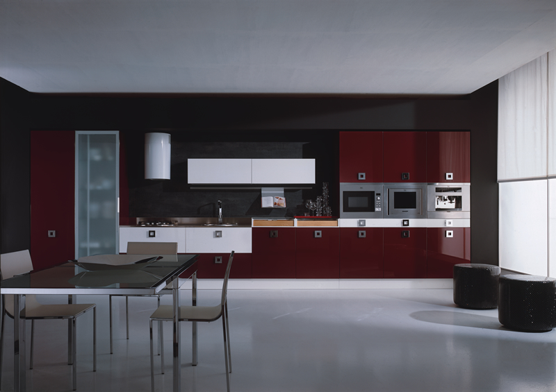 Modern Burgundy Kitchen Ideas (View 1 of 4)