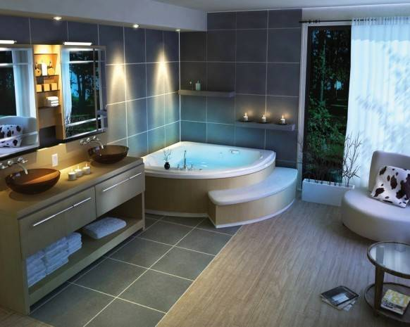 Featured Image of Modern Futuristic Bathroom Design