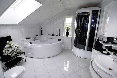 Featured Image of Modern Futuristic Bathroom Ideas