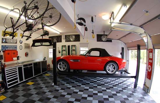 Featured Image of Modern Garage Decoration Ideas