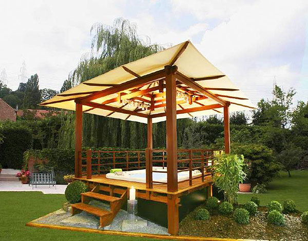 Featured Image of Modern Garden Gazebo Design Ideas