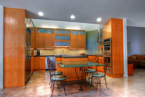 Featured Image of Modern Kitchen 2012 Colors Design In Orange
