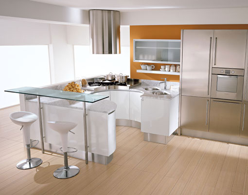 Featured Image of Modern Kitchen Countertop Back Splashes