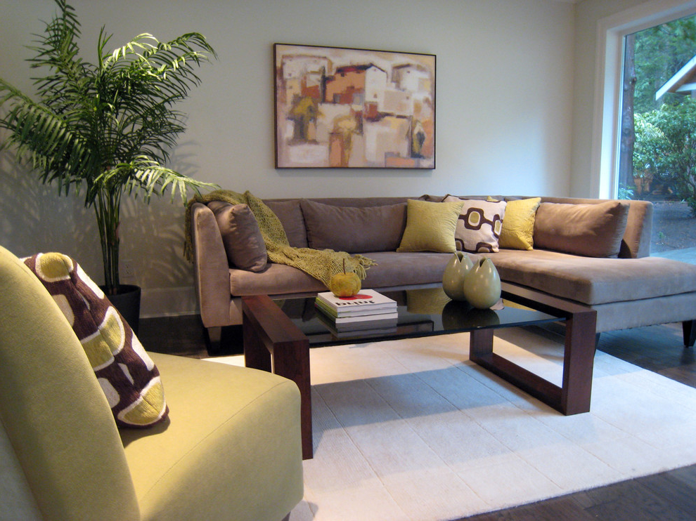 Modern Living Room Color Scheme For Small Modern Interior (View 5 of 11)