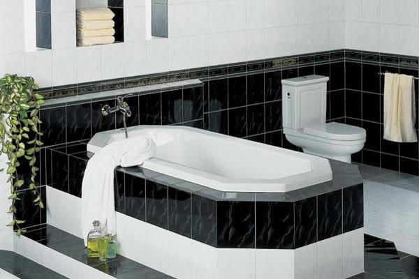 Featured Image of Modern Minimalist Black White Bathroom Ideas