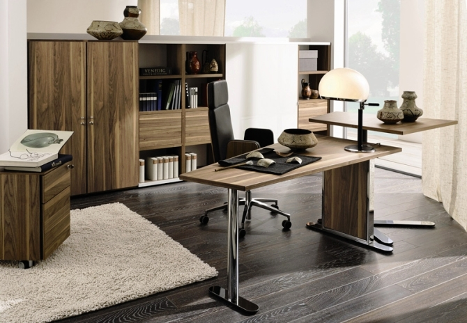 Featured Image of Modern Office Table And Cabinet Ideas