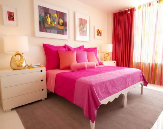 Featured Image of Modern Pink Bedroom Interior Makeover
