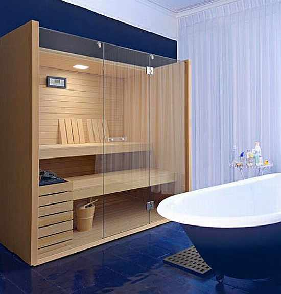 Featured Image of Modern Sauna Room Ideas