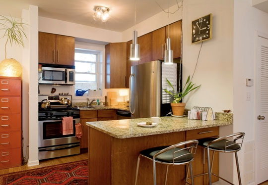 Featured Image of Modern Small Kitchen Interior Ideas