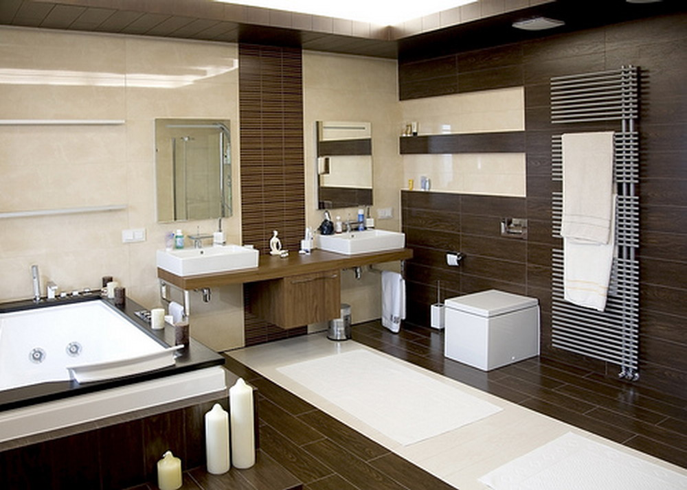 Featured Image of Modern Wooden Bathroom Design Ideas