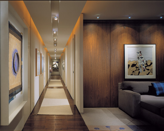 Featured Image of Modern Wooden Corridor Design Ideas